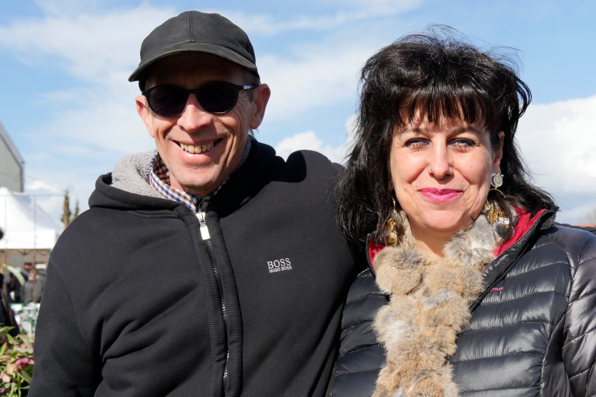 Heuchères : Sandrine et Thierry Delabroye