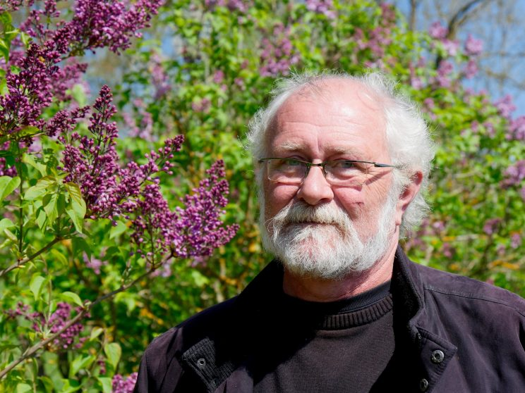 Jean-François Gonot, responsable de la collection de Lilas. C'est LE spécialiste français !