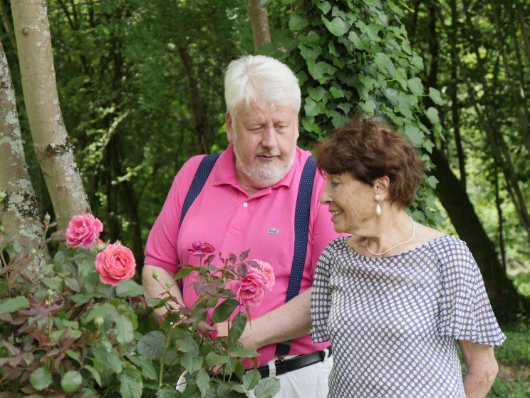 Roses : Marie-José Degas et Patrick Mioulane