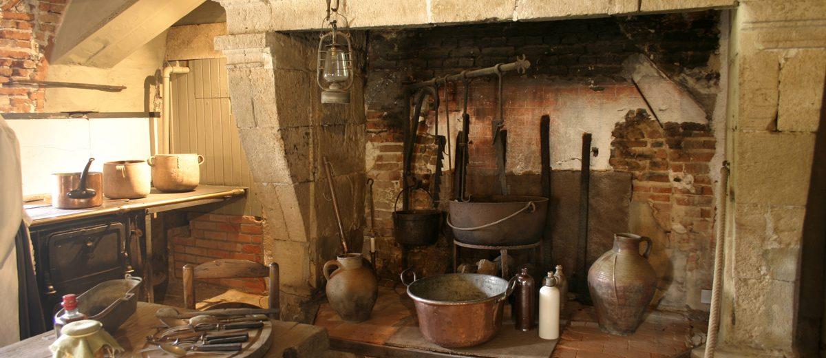 Cuisine du Chateau de la Bussière