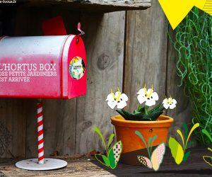 L'Hortus Box des petits jardiniers est arrivée