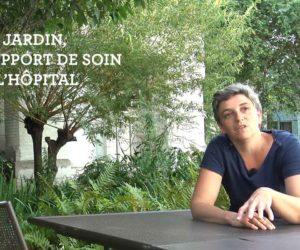 Anne Surdon, jardinière à l'Hopital Cognacq-Jay