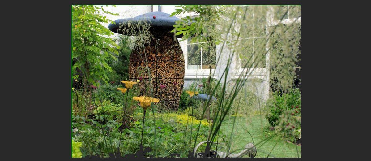 Champicomposteur© au Jardin Droog à Amsterdam
