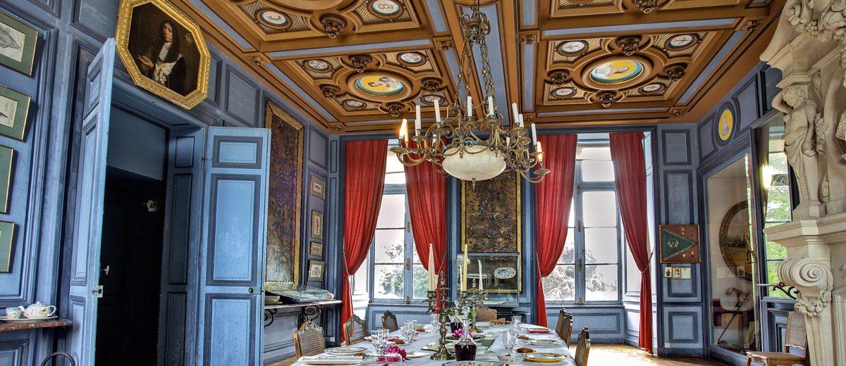 Salle à manger du Chateau de la Bussière