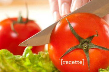 Découpe de tomates
