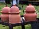 Tondeuse écolo en poterie