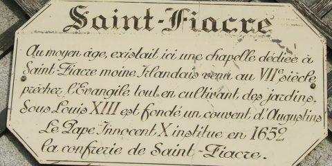Histoire de Saint-Fiacre