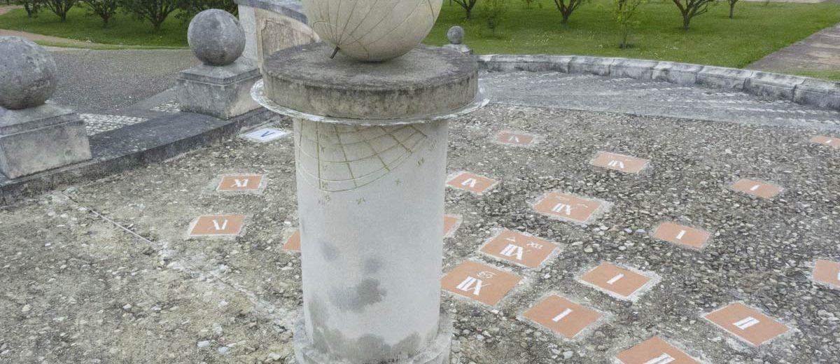 Cadran solaire - Abbaye de Saint-Georges