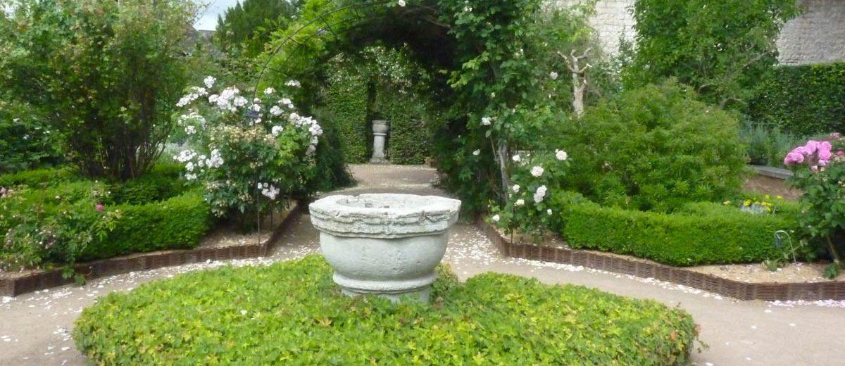 Le jardin des fragrances - Abbaye de Saint-Georges