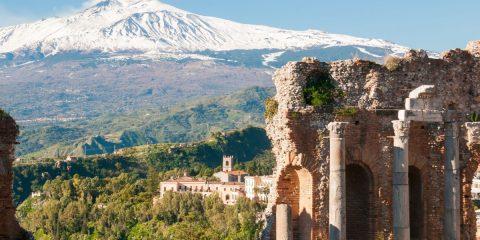 Taormine en Sicile