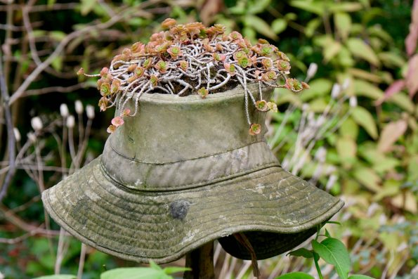 recyclage chapeau