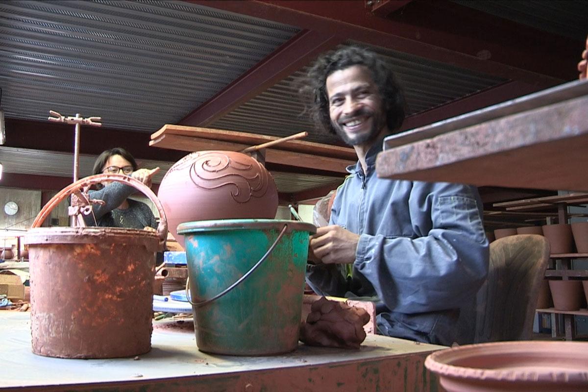 Wael, potier - Poteries d'Albi - Isabelle Morand- Hortus Focus