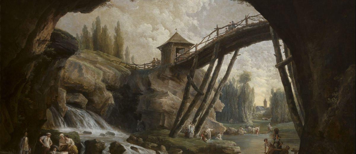 La Grotte de Méréville - Hubert Robert