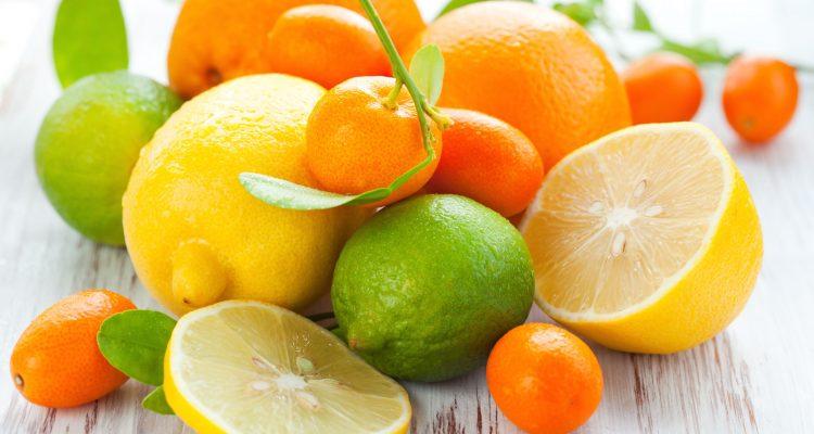 citrons, oranges, pamplemousses