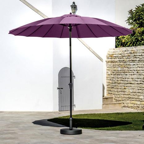 Tendance ultra violet : le parasol