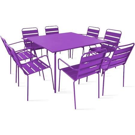 Tendance ultra violet : le mobilier de jardin
