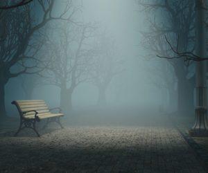 jardin hanté, fantôme