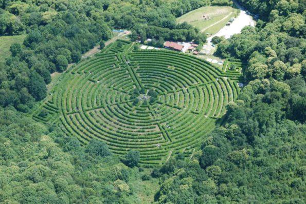 Les labyrinthes végétaux partout en France : aquitaine