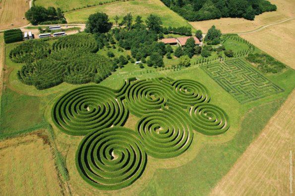 Les labyrinthes végétaux partout en France : Drôme