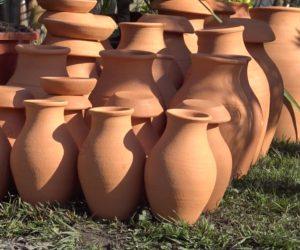 oya - jarre en argile - Hortus Focus ©I.Morand
