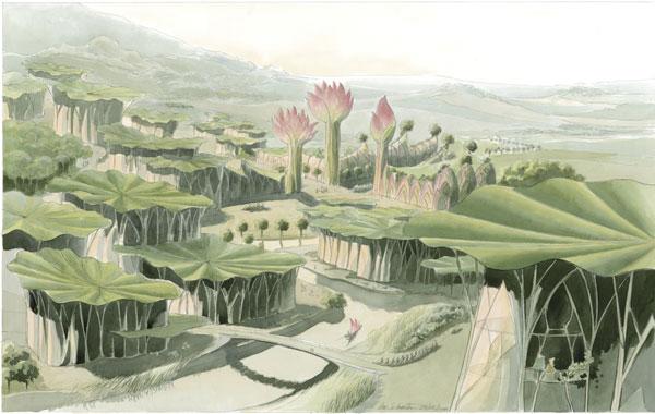 Cités végétales : La Cité Lotus