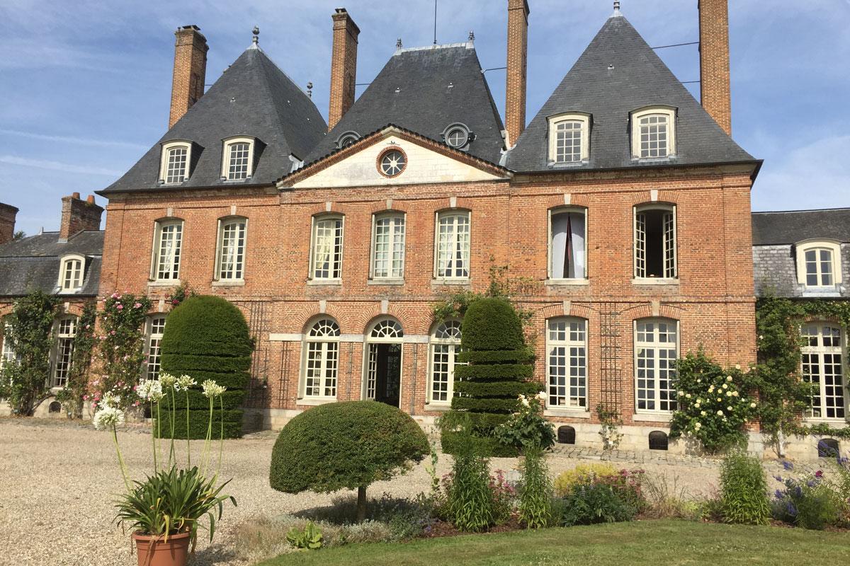 Château-roseraie du Mesnil Geoffroy - Hortus Focus