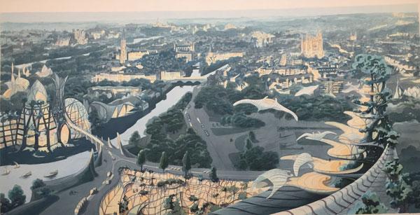 Cités végétales : Metz en 2167