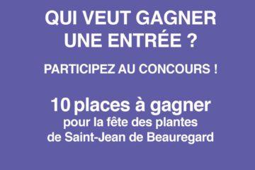 Concours Saint-Jean de Beauregard