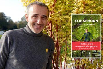 Elie Semoun et son livre sur le jardin
