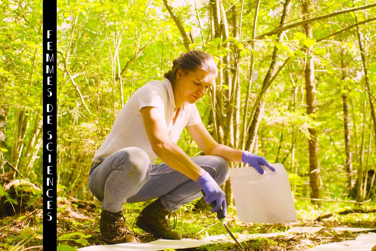 femme botaniste