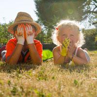 Gants de jardin pour les enfants