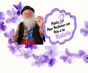 Parfumez vos pets à la violette !