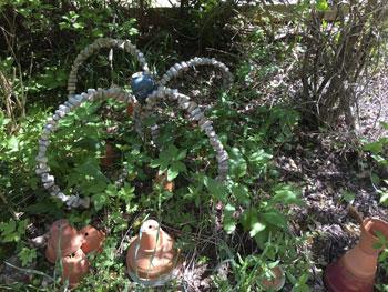 """Le jardin des Panrées : """"Bouchon art"""" par Jean-Louis"""
