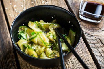 Concombre sauce-soja