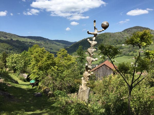 """Le jardin des Panrées : """"En équilibre pour la nature"""" par Francis Cuny"""