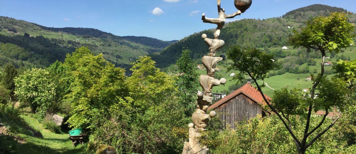 En équilibre pour la nature par Francis Cuny