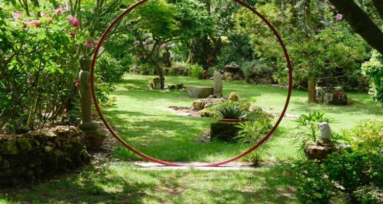 jardin de la Parmélie, en Seine-et-Marne
