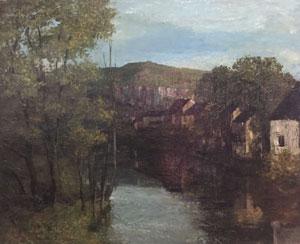 Courbet, tableau Vue d'Ornans