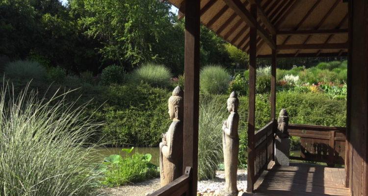 Le jardin des Martels, dans le Tarn