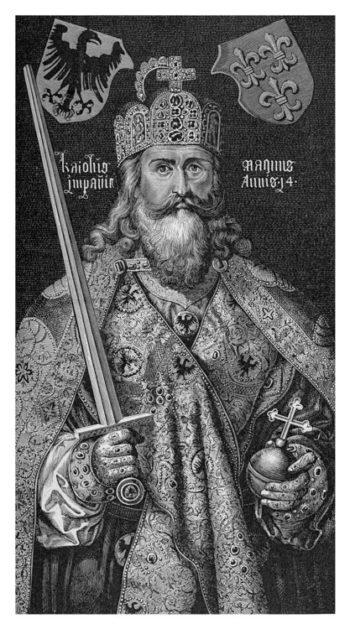 Portrait de Charlemagne