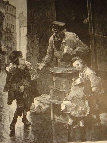 vendeur de marrons - hortus focus