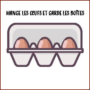 boites d'œufs - Hortus Focus