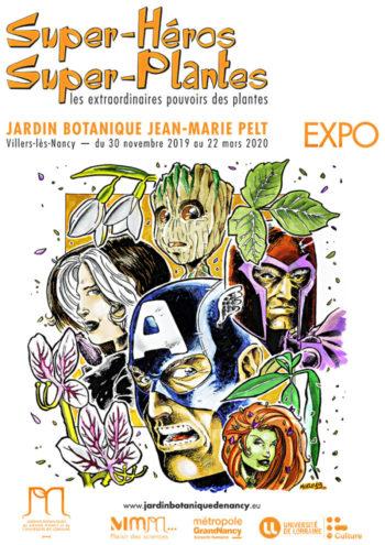 Pour les enfants : Super-héros et Super-plantes