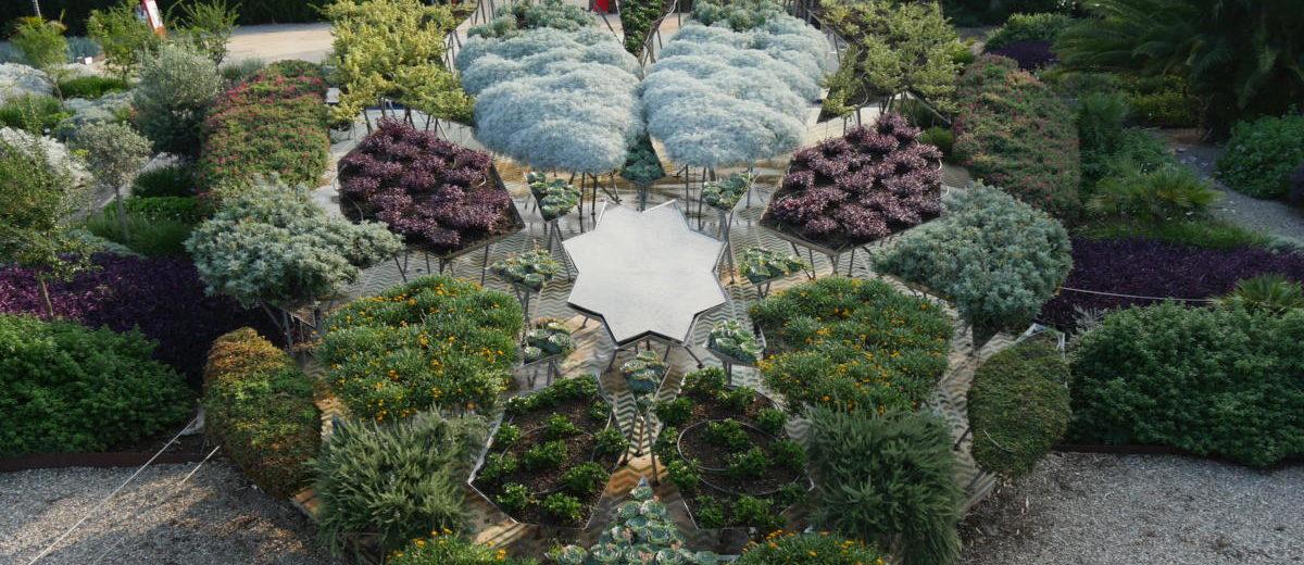 Anamorphose - François Abelanet - Parc botanique Radicepura - Hortus Focus