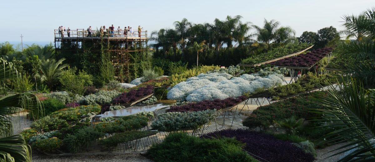 Anamorphose - Parc botanique Radicepura - Hortus Focus