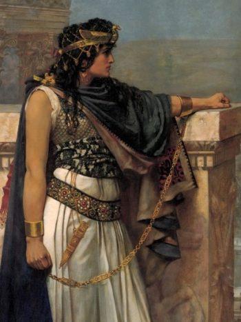 La reine Zénobie - Peinture de Herbert Schmalz