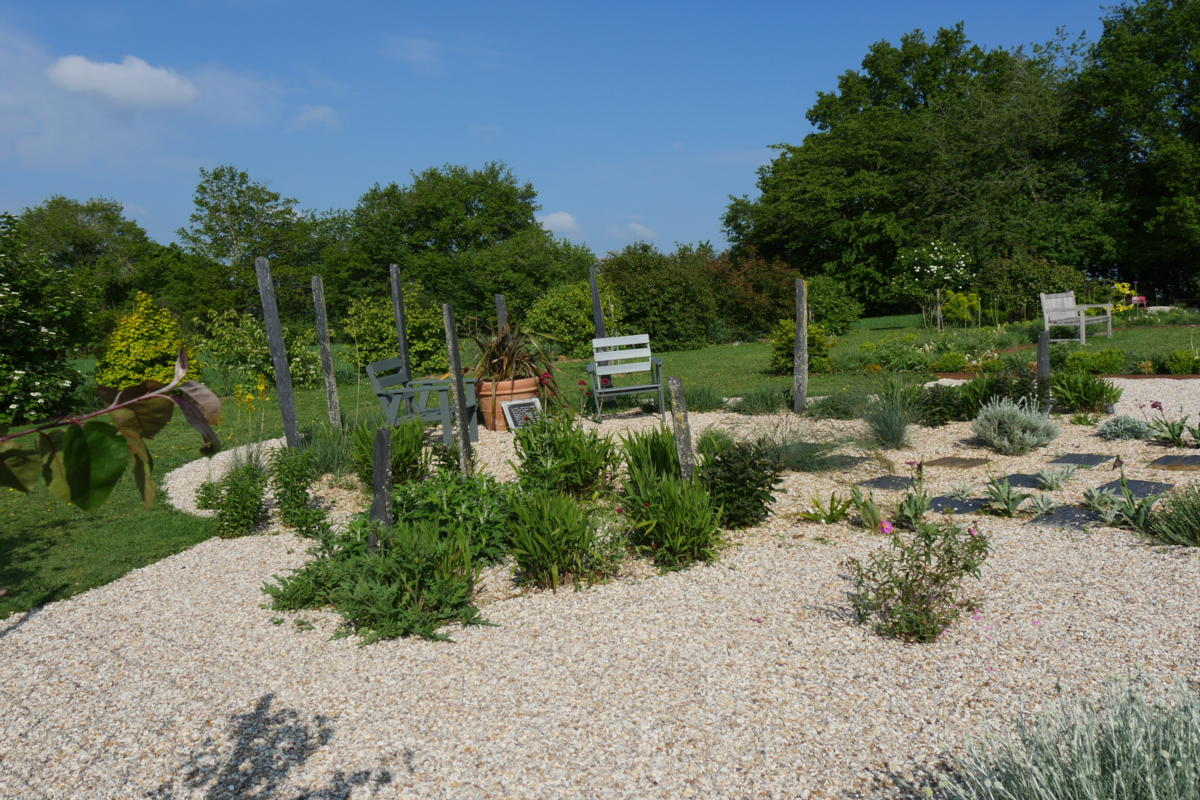 Jardin sec - le jardin de Marie