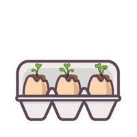 semer des radis : ça pousse !