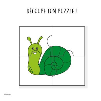 Puzzle escargot