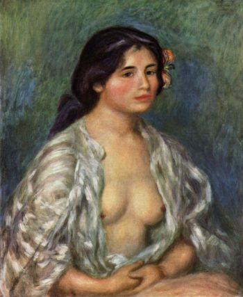 Gabrielle en blouse ouverte - Hortus Focus
